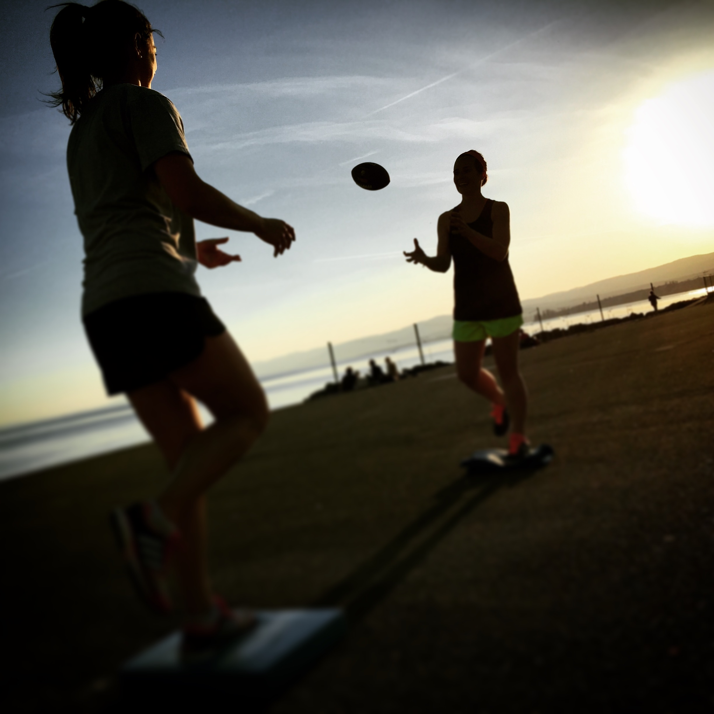 Les joies de l'entraînement outdoor